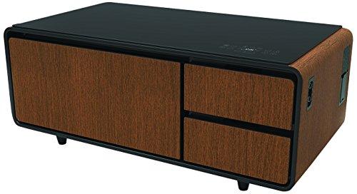 Sobro Soctb300wdbk Coffee Table With Refrigerator Drawer