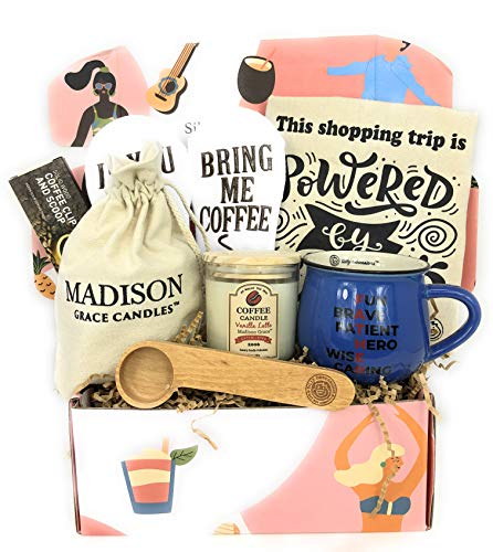 Fathers Gift Set By Silly Obsessions Fun Box For Father Day Birthday Basket Dad Husband Him Coffee